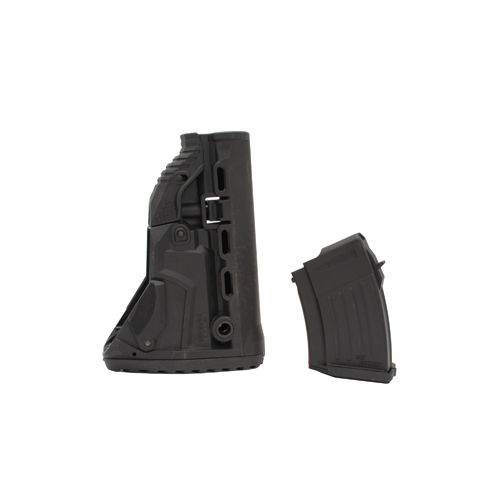 Mako Group Mako Group AK-47 Survival Stock w/Mag Carrier Black GK-MAG-B