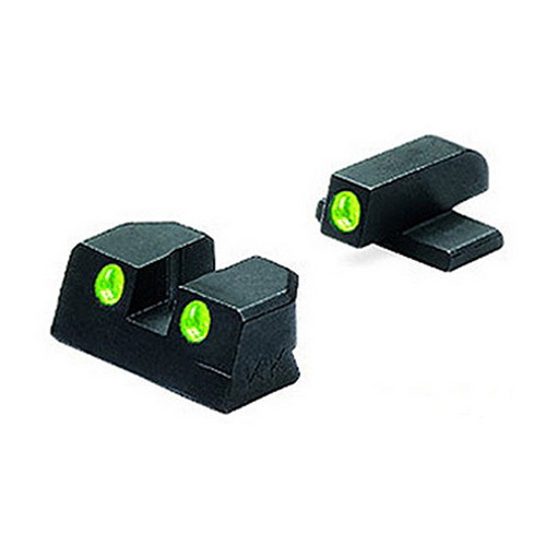 Mako Group Sig Sauer Tru-Dot Sights 9mm & 357 Sig, Green/Green