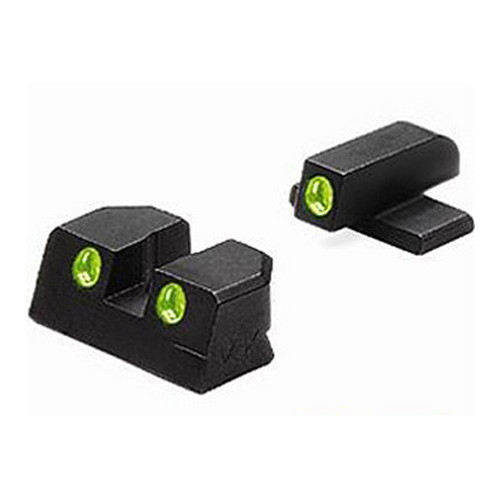 Mako Group Bersa Tru-Dot Sights Thunder 9mm & 40 S&W, Fixed Set