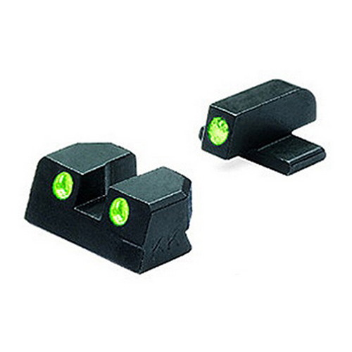 Mako Group Mako Group Springfield - Tru-Dot Sights XD .45 ACP Green/Green Fixed Set ML11411
