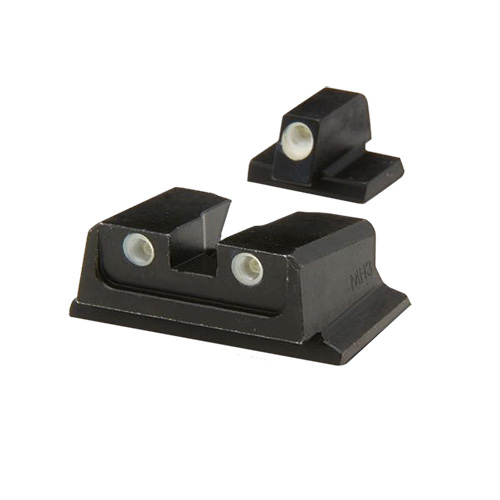 Mako Group Mako Group S&W - Tru-Dot Sights M&P F/S Comp&Sub-Comp Fixed Set ML11766