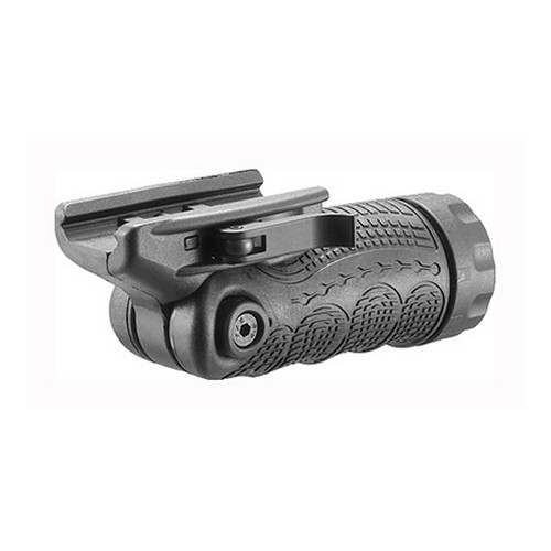 Mako Group Mako Group Tactical 7-Positiion Folding Grip, w/Storage, Black Quick Release TFLQR-B