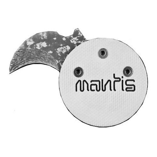 Mantis Civilinaire Coin Knife White/Gray Angel Edition MCK-2