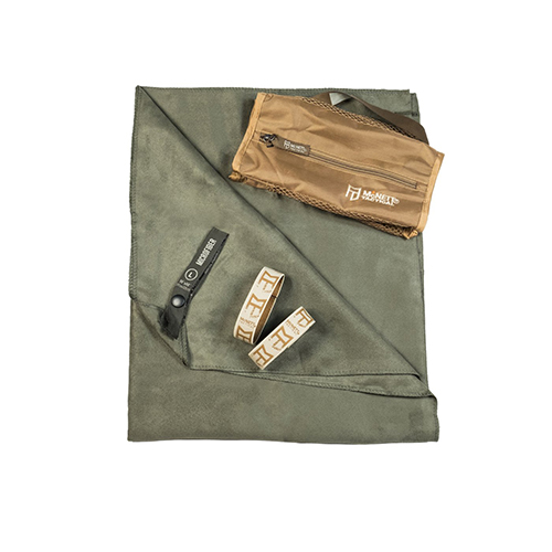 McNett McNett OutGo Microfiber Towel, Large OD Green 44034