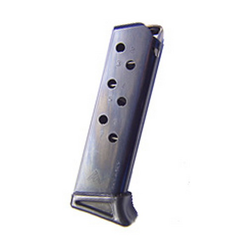 Mecgar Walther PPK/S 380 Magazine 7 Round, Finger Rest, Blue