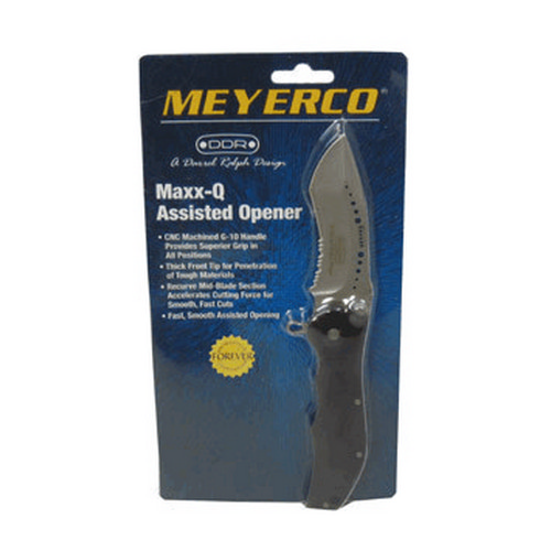 Meyerco Meyerco MAXX-Q Assisted Opener Serrated MFDRMQ2AO
