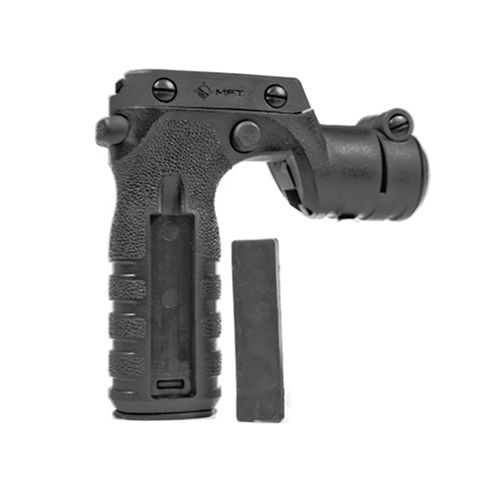 Mission First Tactical React Torch & Vertical Grip, Black