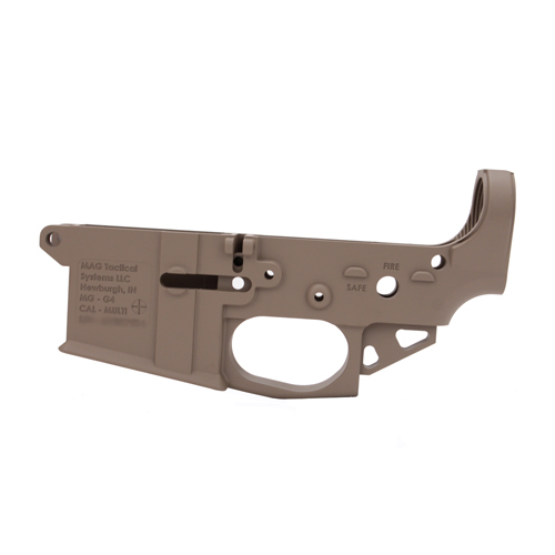 Mag Tactical Stripped Lower AR-15 Magnesium Flat Dark Earth