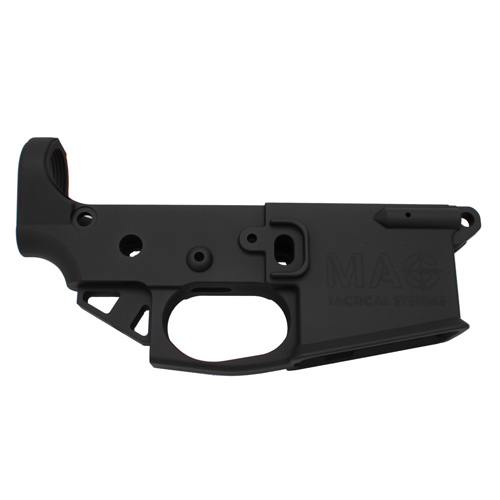 Mag Tactical Stripped AR-15 Magnesium Black Lower Black