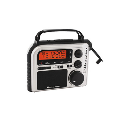 Midland Radios Midland Radios Emergency Multi-Power/Crank AM/FM/WX ER102