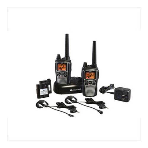 Midland Radios Midland Radios FRS/GMRS 2-Way Radios 42 Channel/36 mile Ear/Mic Battery/Charger GXT860VP4