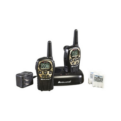 Midland Radios Midland Radios FRS/GMRS 2-Way Radios 22 Channel/24 Mile, Battery/Charger Mossy Oak LXT535VP3