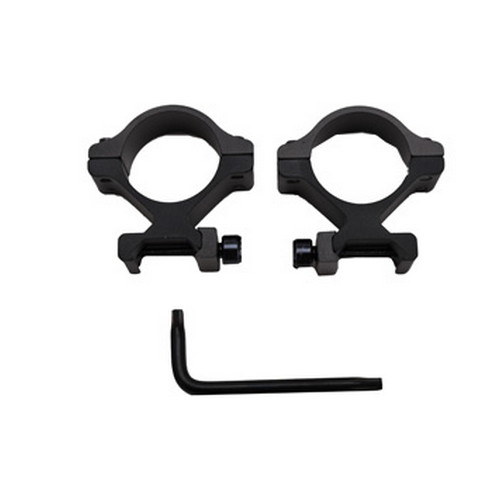 Millett Sights Millett Sights 30mm Detachable Rings Medium, Matte DT00705