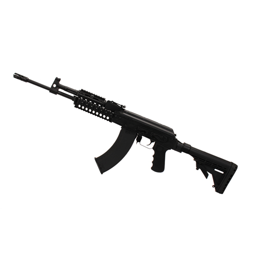 M+M Rifle AK47 Style Rifle Low-Rec Stk Pistol Grip Black 30 Round