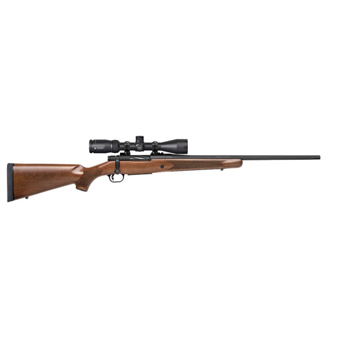 Mossberg Rifle Mossberg Patriot 308 Win Walnut with Vortex 3-9x40mm 5 Rounds