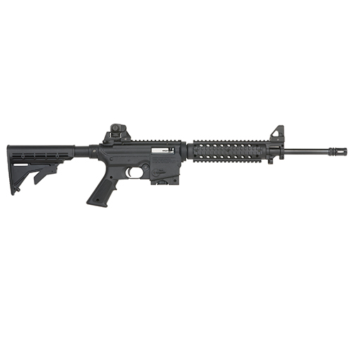 Mossberg Rifle Mossberg Tactical 22 Long Rifle Autoloader FlatTop Rail Adjustable Stock 10 Round 37205