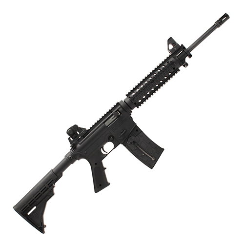 Mossberg Rifle Mossberg Tactical 22 Long Rifle Autoloader Flat Top Rail, Fixed Stock, 25 Round 37207