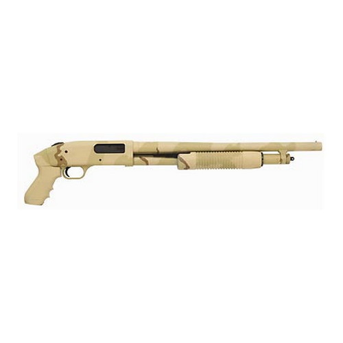 Mossberg 500 Just In Case 12ga 6-Shot Desert Camo Synthetic Package, 18