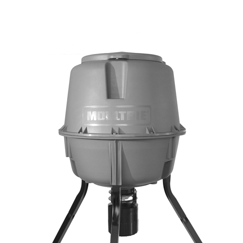 Moultrie Feeders Moultrie Feeders Tripod Feeder w/QL Hopper 30 Gallon Pro-Lock MFG-12607