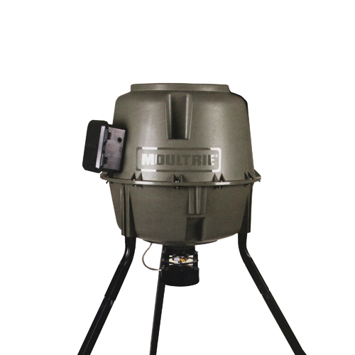 Moultrie Feeders Moultrie Feeders Tripod Feeder w/QL Hopper 30 Gallon E-Z Fill MFG-12608
