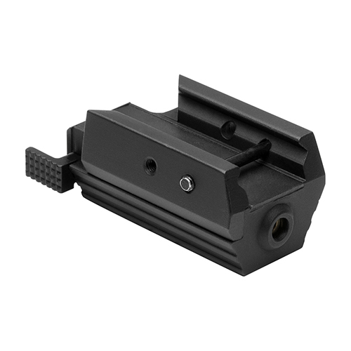 NcStar Tactical Pistol Red Laser, Accessory Rail/Aluminum