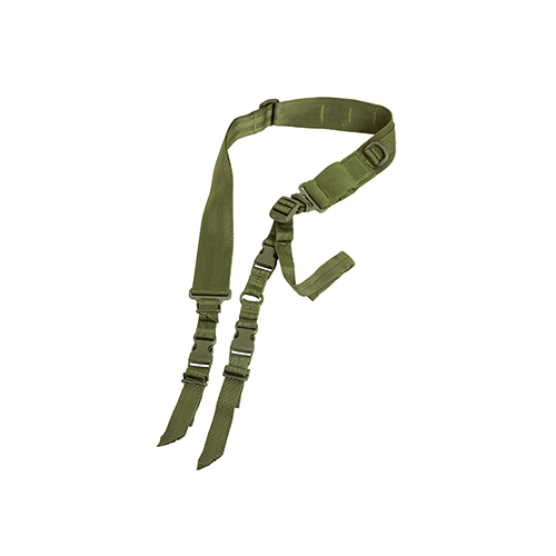 NcStar NcStar 2 Point Tactical Sling Green AARS2PG