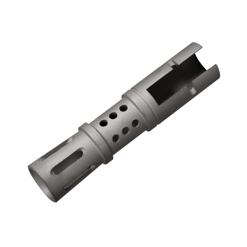 NcStar NcStar Mini 14 Muzzle Brake Silver, Old Version AMS14/2