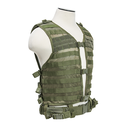 NcStar NcStar Molle/Pals Vest Green CPV2915G