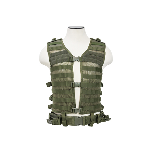 NcStar NcStar Molle/Pals Vest Green, Large CPVL2915G