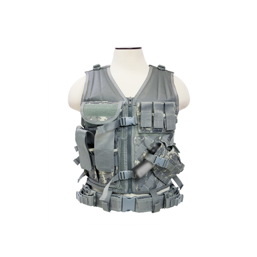 NcStar NcStar Tactical Vest Digital Camo CTV2916D