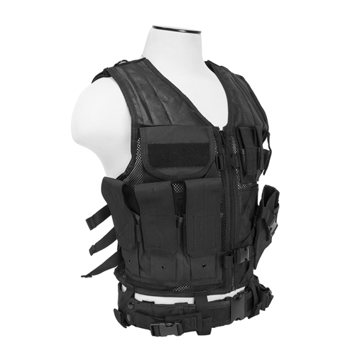 NcStar NcStar Tactical Vest Black, Large CTVL2916B