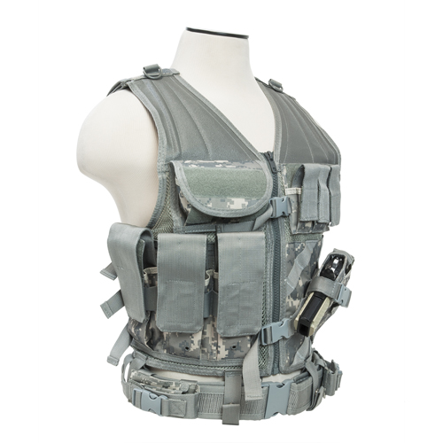 NcStar NcStar Tactical Vest Digital Camo, Large CTVL2916D