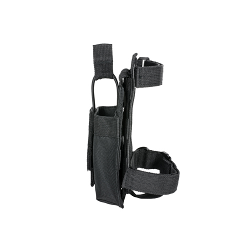 NcStar AR Single Mag Pouch w/Stock Adapter Black