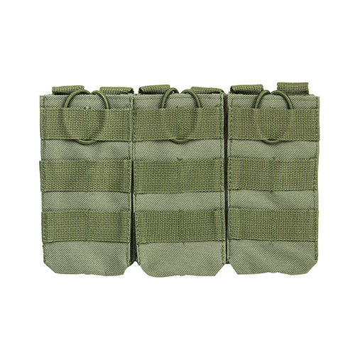 NcStar AR Triple Mag Pouch Green