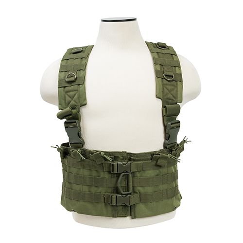 NcStar AR Chest Rig Green