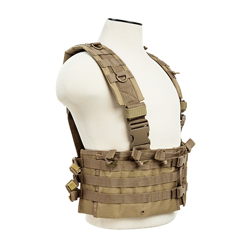 NcStar AR Chest Rig Tan
