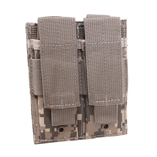 NcStar Double Pistol Mag Pouch Digital Camo