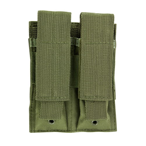 NcStar NcStar Double Pistol Mag Pouch Green CVP2P2931G