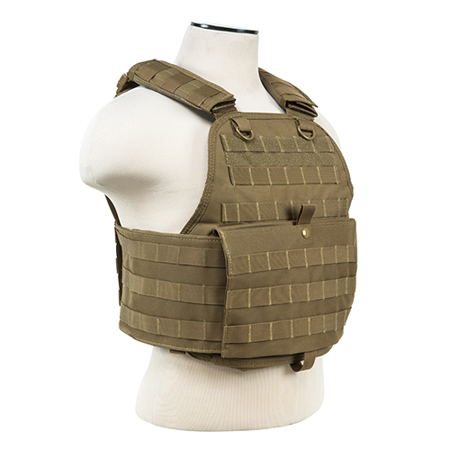 NcStar Plate Carrier Vest Tan