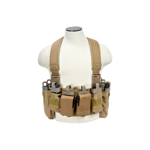 NcStar NcStar Ultimate Chest Rig Tan CVUCR2943T
