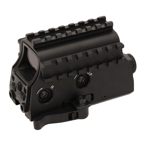NcStar NcStar Tactical Green Dot/3, Armored Rail System, Quick Release/Red Laser D3ARSGQLR/2