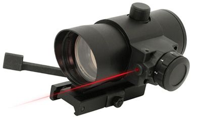 NcStar NcStar Red Dot Sight 1x40, with Laser and Quick Release Mount DLB140