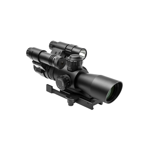 NcStar Total Targeting System 2-7X32 Mil-Dot Scope