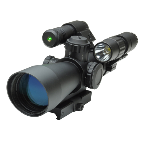 NcStar NcStar Total Targeting System 3-9X42 Mil-Dot Scope KSTM3942G/FLG