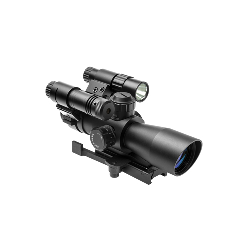 NcStar Total Targeting System 4X32 P4 Sniper Scope