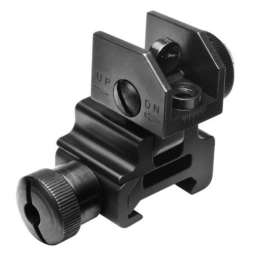 NcStar NcStar AR15 Flip Up Rear Sight MARFLR