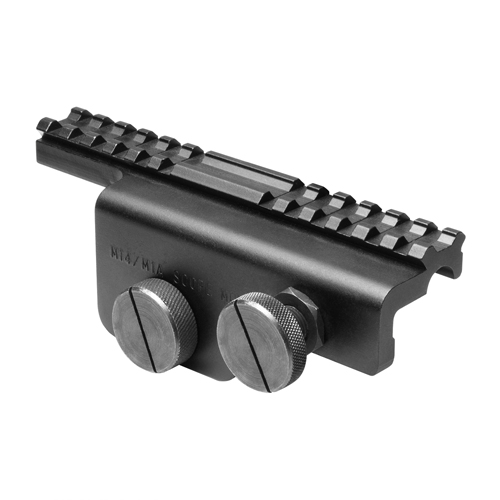 NcStar NcStar M1A/M-14 Scope Mount Weaver Style, Black Weaver Style, Black MM14