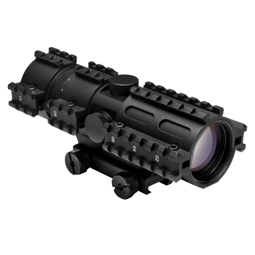 NcStar Tactical 3-Rail Sighting System 3-9x42/Mil-Dot/Weaver Mount