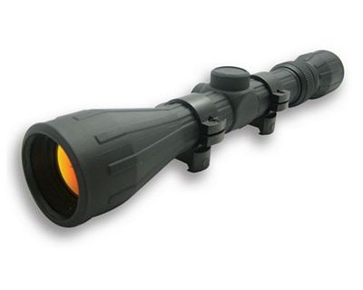 NcStar Rubber Tactical Series Scope 3-9x40 Rubber Scope, Ruby Lens