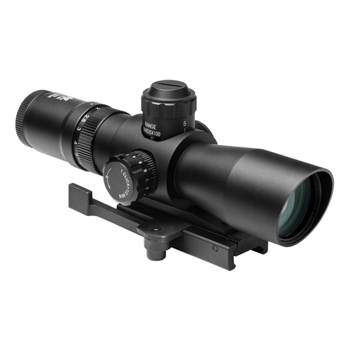 NcStar Mark III Tactical Scope Series 2-7x32 Compact Red/Green Illuminated P4